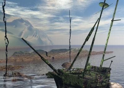 statek-grafika-komputerowa-Mariusz-Kowalski